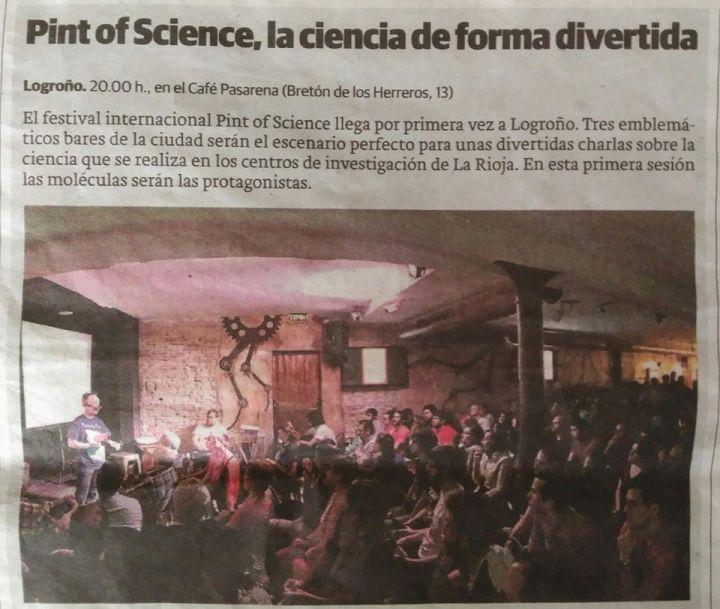 Pint of Science, la ciencia de forma divertida